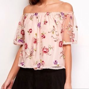 Stassi Embroidered Top